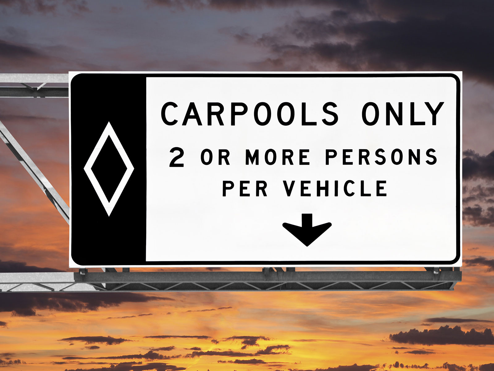 sign for carpool